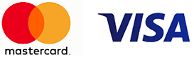 mastercard and visa logo for RB Mobility Services